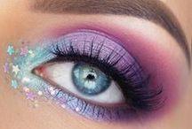 Unicorn Rainbow Eye Makeup