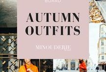 Autumn Outfits / http://www.minouderie.com