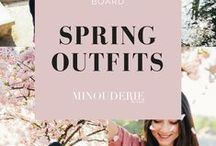 Spring Outfits / http://www.minouderie.com