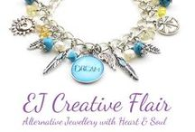Handmade Jewellery / Unique handmade jewellery including gemstone bracelets, chakra bracelets and chakra gemstone necklaces available from EJ Creative Flair