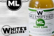 White's Mint Lime-Cocktails / Floral fresh mint twisted with a zest of tangy lime teases your tastes until you'd swear you're in Key West.