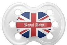 Royal Baby Pacifiers / Give your baby the latest in pacifier fashion with a custom BooginHead® pacifier! Made with a silicone orthodontic nipple, this pacifier is designed to exceed all safety standards and look good with your custom printed text or graphics. Perfect for a baby's name or a witty expression, a custom pacifier is a fun way to get and give peace of mind. Two nipple sizes: 0-6 months & 6+ months. 100% BPA, PVC, & Phthalate free. http://www.zazzle.com/LaBebbadesigns*