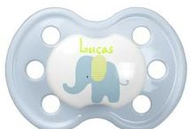 Cute Baby Pacifiers / Give your baby the latest in pacifier fashion with a custom BooginHead® pacifier! Made with a silicone orthodontic nipple, this pacifier is designed to exceed all safety standards and look good with your custom printed text or graphics. Perfect for a baby's name or a witty expression, a custom pacifier is a fun way to get and give peace of mind. Two nipple sizes: 0-6 months & 6+ months. 100% BPA, PVC, & Phthalate free. http://www.zazzle.com/LaBebbadesigns*