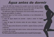 Dicas, Saúde e Utilidades / by Fátima Fraga