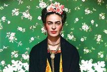 Frida Kahlo / Frida Kahlo - Mexican Painter (July 6, 1907 – July 13, 1954)