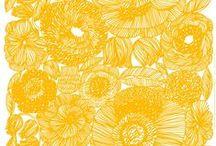 Floral Print | Yellow / Floral Print | Yellow