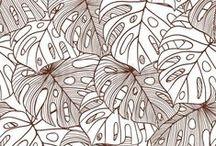 Floral Print | Brown / Floral Print | Brown