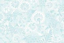Floral Print | Aqua / Floral Print | Aqua