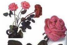 Szydełko: kwiaty / crochet flowers