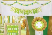 We ♥ St. Patrick's Day! / Tips and tasty treats for your St. Patrick's Day celebration!