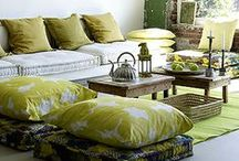 Creative Color / Get creative with color in your apartment!