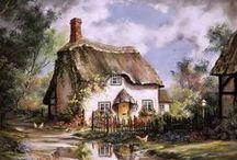 obrazy domów
