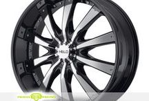 Helo Wheels & Helo Rims And Tires / Collection of Helo Rims & Helo Wheel & Tire Packages
