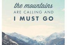 mountains are calling / Rund um den Schnee!  - Snowboard  - Landschaft  - Winter/Weihnachten