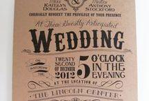 Invitaciones / Invitaciones para boda