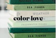 Color Love / attractive colors and color combinations that we admire
