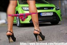 Ford Focus & Girls / Ford Focus ST, RS and many others with Girls, Women and Models