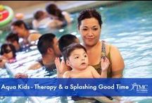 Aqua Therapy / Want to learn more about the benefits of your pool? Why not try aqua therapy for a change!