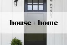 House + Home / decor, furniture and other home aspirations and inspirations
