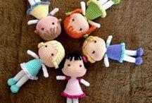Lalki szydełkowe/ crochet dolls