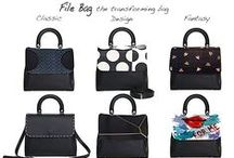 File Bag / The revolutionary concept of sustainable luxury bag