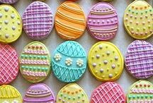 Easter / Easter cake, cupcakes and food recipes and decorations.