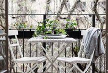 - o u t d o o r   l i v i n g - / Balconies, terraces, gardening