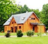 #maisons en #bois / Les maisons en bois et chalets respectant la nature.