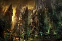 Project   Svenhild (World) / Inspirations for Nebelheim, the world of Svenhild.