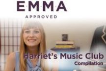 Harriet's Music Club  / #HarrietSongs - http://pbly.co/harrietsongs / by Emma Approved