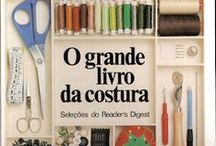 costura : moda, moldes,livros . / by Esther Britto