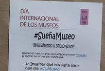 Actividad #RecuerdaSueñaMuseo (2014) / ¡¡Tus recuerdos del Museo de Almería y también tus sueños para un Museo mejor!! (Tablero colaborativo of-line vs. on-line). Día Internacional de los Museos, 2014.