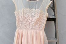 Lace dress / Vintage lace dress