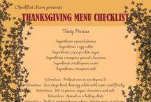 Thanksgiving - ChecklistMom