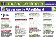 Actividades del Museo de Almería 2016 (primavera / verano) / Museum of Almería event 2016 (Spring / Summer)