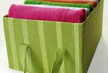 корзина текстиль