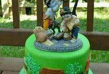 Krishna cakes