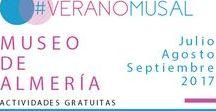 Actividades del Museo de Almería (2017) Primavera-Verano / Museum of Almería event (Spring/Summer 2017)