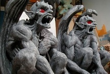 Gargoyles, grotesques and sculptures / by Jan Bevis