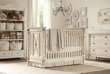 Baby nursery ideas  / This was before I gave birth to my beautiful daughter, but would still love to use some of these inspirations for her new room and for baby #2 someday.