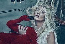The Swan Princess / swans, ballet, romance, whimsical, fashion