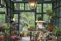 Potting tables & garden rooms / by Darlyne Michaels