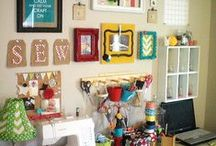 Be Creative / Ideas to organize your working place