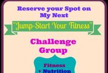 Fitness Challenge Groups / Need support to jumpstart your fitness journey? Join one of my Fitness Challenge groups! The main goal of this Challenge Group is to maximiza your results by focusing on NUTRITION and EXERCISE and giving you the INSPIRATION AND MOTIVATIONS you need to get hose results: Fitness + Nutrition + Support + Rewards = SUCCESS!