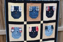 Quiltsels denim