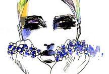 Fashion Illustration- A2 Art