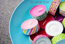 DIY  washi tape / Allemaal leuke ideeën wat je met washi (masking) tape kunt doen! Blijf plakken..... / by Marjo Houben