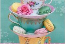 All about tea / Alles wat maar enigszins te maken heeft met thee! Als echte theedrinker mag dit bord niet ontbreken... / by Marjo Houben
