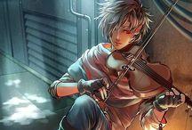 Anime and fantasy / Anime prente en teken tegnieke