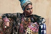 African / Culture, Patterns, Dresses, Jewelry, Color